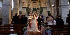 Chianti Catholic wedding ceremony in Tuscany
