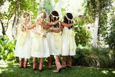 mini bridesmaid