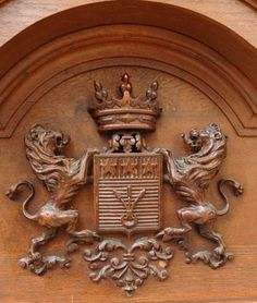Antiques Coats Of Arms -..