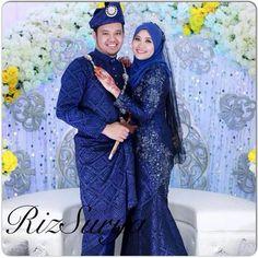 ♥ Muslimah Wedding Dress, Muslim Wedding Dresses, Wedding Dresses Photos, Wedding Poses, Malay Wedding Dress, Wedding Trends, Wedding Ideas, Hijab Fashion, Wedding Stuff