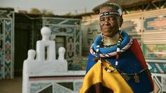 on a recent trip to south africa with BMW group culture, designboom met Esther Mahlangu, saw her latest BMW art car venture and learned about her current projects. Rosa Parks, Latest Bmw, Contemporary African Art, South African Artists, African Tribes, African Diaspora, Global Brands, African Design, York
