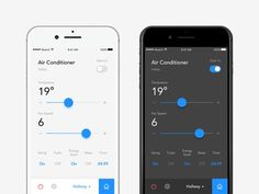This is our daily iOS app design inspiration article for our loyal readers. Every day we are showcasing a iOS app design whether live on app stores or only designed as concept. Ios App Design, Iphone App Design, Iphone App Layout, Mobile Ui Design, Dashboard Design, Smart Home Design, Modern Web Design, Flat Design Icons, Design Design