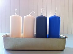 LidenSkapelse: Adventstake av brødform Cozy Library, Tins, Pillar Candles, Clocks, Red And Blue, Phones, Kitchens, Collections, Accessories