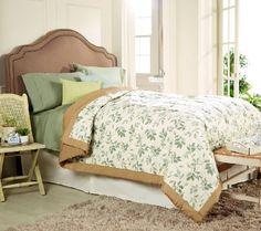 Coleman 400TC Vintage Leaf Reversible Down Alternative Blanket