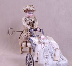 ON HOLD for Mrs. H-Walking Automaton Strolling The Bebe