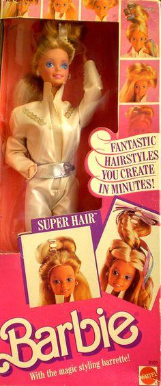 Super Hair Barbie---had her too!