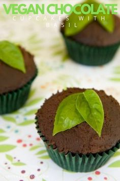 Vegan chocolate cupcakes can easily rival any non-vegan counterpart. These vegan chocolate cupcakes are light and bouncy like Hostess cupcakes - but leagues bet Vegan Cupcake Recipes, Healthy Cupcakes, Vegan Cupcakes, Dessert Recipes, Vegan Recipes, Yummy Recipes, Free Recipes, Recipies, Vegan Chocolate Ganache