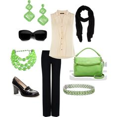 Love this outfit, especially the pop of color! Would never wear these shoes though!