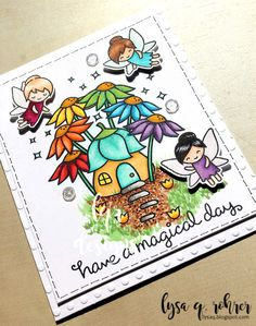 Rainbow garden-sparkle