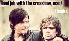 The Walking Dead's Norman Reedus shares funny meme with Peter Dinklage
