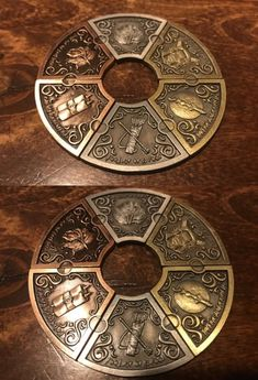 Accessories and Dice 44112: Fantasy Coin - 6Pc Moon Elf Coin Set Elf Larp Rpg Coins Dungeons And Dragons -> BUY IT NOW ONLY: $15 on #eBay #accessories #fantasy #coins #dungeons #dragons Coin Design, Game Design, Coin Band, Magic Coins, Coin Crafts, Moon Elf, Dragon Games, Half Dollar, Cthulhu