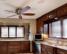 Granite, tile backsplash, new windows. Kitchen Windows, Granite Tile, Contemporary Style, Modern, Backsplash, Kitchen Remodel, Kitchen Cabinets, Iron, Construction
