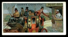 Cigarette Card - Non-Stop Mail Collection | by cigcardpix