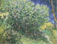 Lilacs | Vincent Van Gogh | oil painting