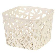 Room Essientials® Branch Weave Small Bin   Set Of 4. Cream RoomRoom  EssentialsStorage ...