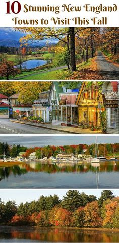 With trees erupting in vibrant colors of golden oranges and reds, in the fall season, New England is definitely the place to be.