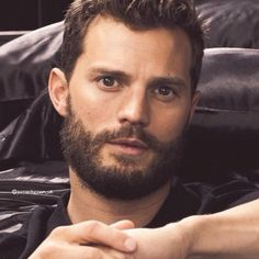 This beautiful face is the perfect combination of his mother and father. Jamie Dornan, Christian Grey, Fifty Shades Darker, 50 Shades, Fifty Shades Series, Bbc Two, Mr Grey, Cinema, Fifty Shades