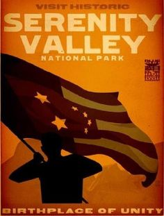 Serenity Valley Travel Poster