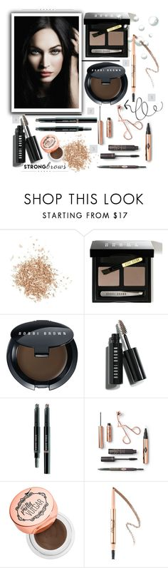 """Well-Groomed: Perfect Brows"" by colierollers ❤ liked on Polyvore featuring beauty, Topshop, Giorgio Armani, Bobbi Brown Cosmetics and perfectbrows"
