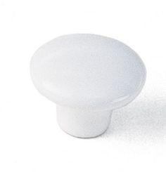 Laurey Cabinet Knob, 1 1/2″ Ceramic Knob  - White