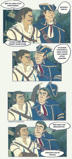 AC3- Father and Son by cherrysplice on DeviantArt