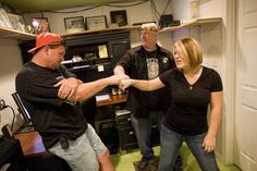 "Ronnie and Amy Shirley | Ron Shirley, Amy Shirley and Bobby Brantley in ""Lizard Lick Towing"""