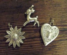 """Making """"silver"""" Polymer clay molded and painted over Adirondack Silver mixative"""