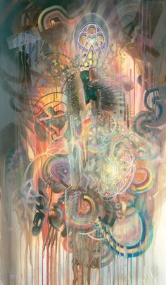 The visionary art of Dennis Konstantin Bax 2010-2013