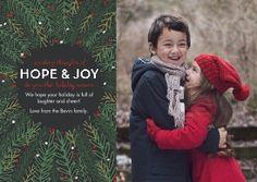 Holiday Hope & Joy Greeting