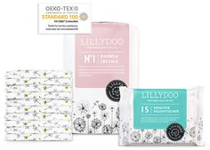 Trial package of Lillydoo diapers/wipes - NL