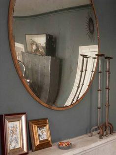 Industrial convex mirror