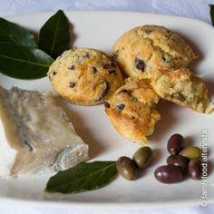 Muffin salati olive e gorgonzola