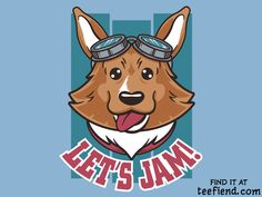 """""""Let's Jam"""" by Fanboy30 is only $11 today at TeeFury http://www.teefiend.com/6731/lets-jam-2/"""