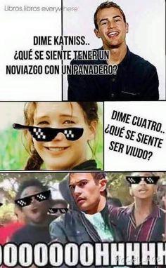 Memes THG - Katniss v.s Cu4tro |Spoiler Leal| - Wattpad