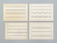 Old French handwriting cards. My grandmother taught me these exercises. French Handwriting, Improve Handwriting, Cursive Handwriting, Handwriting Practice, Penmanship, Handwriting Styles, Writing Prompts, Writing Tips, Hand Writing
