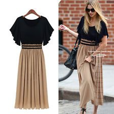 dolman+batwing+gown+formal+vintage   ... Chiffon Long Pleated Dolman Batwing Dress Ball Party Gown Skirt New