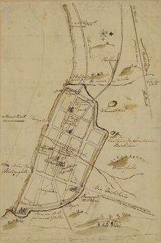 London in the Roman Period, Stukeley, 1720 - Category:Old maps of London - Wikimedia Commons Old Maps Of London, Vintage London, Old London, Map Of Victoria, Central London Map, Os Maps, Roman Britain, Pictorial Maps, Plan Sketch