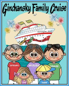 Custom Personalized Family Group Character CRUISE Celebrity Norwegian Carnival Disney Royal Caribbean More T-Shirt