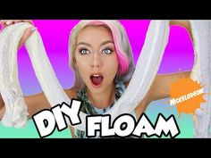 DIY GIANT FLOAM SLIME ! SO EASY | SUPER FUN | Stress Relieving | GIANT FLOAM BALL AND SNAKE - YouTube