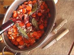 Menu Cannes 2008: french lamb stew