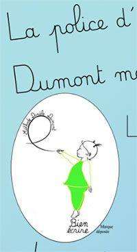 Police d'écriture cursive Dumont maternelle