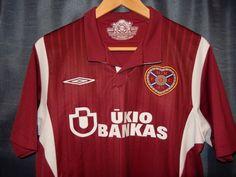 Heart Of Midlothian 2009/10 Home *Med* Excellent Football Soccer Jersey Shirt #Umbro #HeartofMidlothian