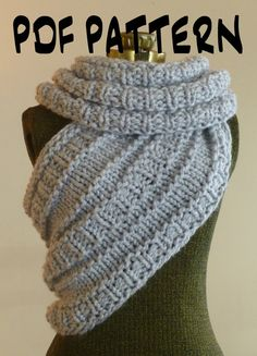 CAN SOMEONE PLEASE MAKE THIS FOR ME?????.....INSTANT DOWNLOAD Knitting PATTERN The Katniss by BoPeepsBonnets