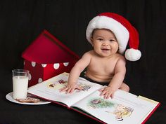 DIY Baby Christmas Photo Idea - Olan Mills Portrait Studios