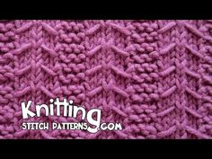 Gulls & Garter stitch - YouTube