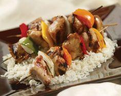 Tonights Easy Dinner Idea: Healthy Chicken Kebabs #health #fitness