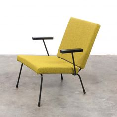 Model 1407 arm chair by Wim Rietveld for Gispen, 1950s