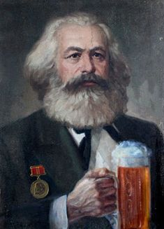 Howard Zinn, Soviet Art, Soviet Union, Karl Marx, China Art, Mustache, Contemporary Artists, Painting, Communism