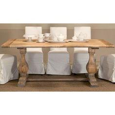 Divano 4 posti in lino e legno shabby Blanc MariClò | MY FORNITURE ...