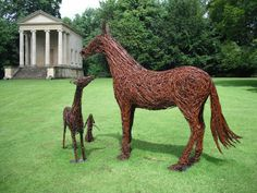 Emma Stothard, Willow Sculptures